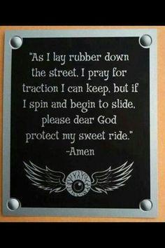 Racing prayer lol