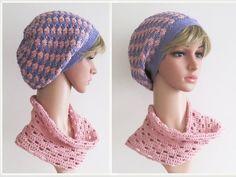Crochet Hats, Beanie, Fashion, Tutorials, Hand Sewn, Cotton Fabric, Women's, Knitting Hats, Moda