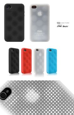 product by Erik Arlen at Coroflot.com Mobile Accessories, Phone Accessories, Mobile Phone Cases, Iphone Cases, 3d Pattern, Patterns, Apple Case, Apple Mobile, Red Packet