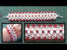"Beading4perfectionists : Herringbone ""inspired"" bracelet beading tutorial"