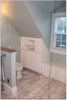 Attic Bathroom Design Ideas, Pictures, Remodel, and Decor - page 3