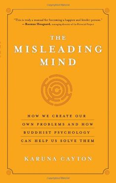 The Misleading Mind: How We Create Our Own Problems and How Buddhist Psychology Can Help Us Solve Them by Karuna Cayton http://www.amazon.com/dp/1577319427/ref=cm_sw_r_pi_dp_sY7qvb0ZH92FJ