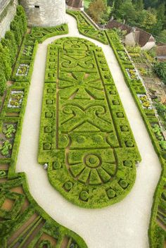 Places ive been: Château de Hautefort, Dordogne (Périgord), France Topiary Topiary Garden, Garden Art, Garden Design, Garden Ideas, Garden Pool, Formal Gardens, Outdoor Gardens, Landscape Architecture, Landscape Design