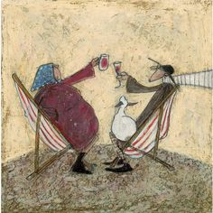 Sam Toft - Absent Friends - The Rose Gallery