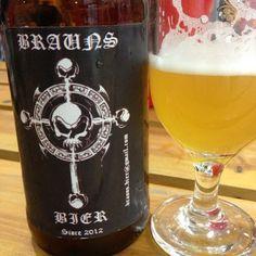 Cerveja do dia: Brauns Bier Saison (4,6% / Curitiba, PR - Brasil) #cervejadodia