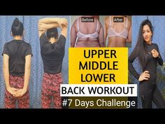 Online Personal Training, 7 Day Challenge, Lower Back Exercises, Back Fat, Desi, Challenges, Weight Loss, Workout, Fitness