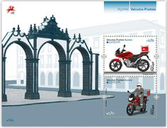 "europa stamps: Azores 2013 - Europa 2013 ""The postman van""  celebrating PostEuropa's 20th anniversary - 1993-2013"