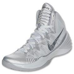 Men\u0027s Nike Hyperdunk 2013 Basketball Shoes | FinishLine.com | Pure  Platinum/Dark Grey