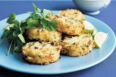 In the mood for Thai? These prawn and rice patties are sure to tempt taste buds.