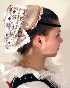 Head dress from Czech Republic