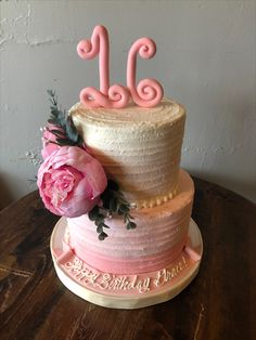 Pink Sweet 16, Sweet 16 Cakes, Charleston, Affair, Bakery, Desserts, Food, 16th Birthday Cakes, Tailgate Desserts