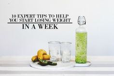 Weight loss drinks are one of the best ways to lose weight and get slim. They give you great nutrients and they're so simple to make! Lose 5 Pounds, Losing 10 Pounds, Start Losing Weight, How To Lose Weight Fast, Eat Slowly, Best Diets, Fast Weight Loss, Diet Tips, Diet Recipes