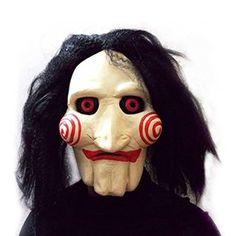 Definitivamente un #disfraz de #jigsaw si que es aterrador y original