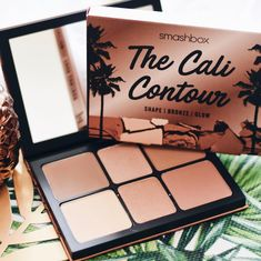 Smashbox - The Cali Contour Palette www.at Contour Palette, Blushes, Bronzer, Glow, Eyeshadow, Shapes, Cali, Essentials, Make Up