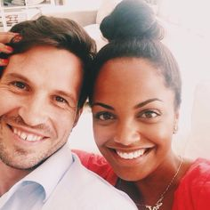 Beautiful interracial couple, married for ten years #love #wmbw #bwwm