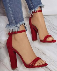 How to wear red shoes high heels classy 33 Ideas Cute Heels, Lace Up Heels, Pumps Heels, Stiletto Heels, Classy Heels, Red High Heels, Flats, Red Shoes, Women's Shoes