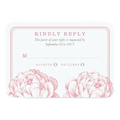The Pretty Peony Floral Wedding Collection