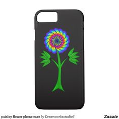 paisley flower phone case