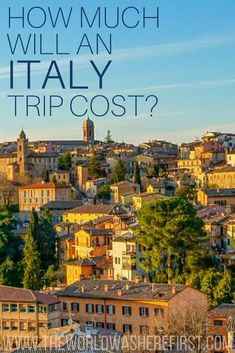 How Much Will an Italy Trip Cost? - The World Was Here First - Italy trip cost Italy Travel Tips, Budget Travel, Cheap Travel, Travel Europe, Italy Places To Visit, Places To See, Italy Vacation, Italy Trip, Italy Outfits