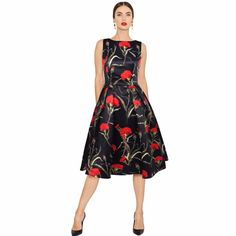 Specifics  GenderWomen  StyleVintage  Sleeve LengthSleeveless  WaistlineEmpire  SilhouetteBall Gown  MaterialPolyester,Cotton  Sleeve StyleRegular  Dresses LengthMid-Calf  DecorationNone  NecklineO-Neck  Pattern TypePrint   Shop this product here: http://spreesy.com/shopforgoodies/697   Shop all of our products at http://spreesy.com/shopforgoodies      Pinterest selling powered by Spreesy.com
