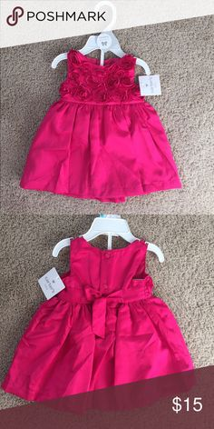 New Baby Girl Dress So cute! Perfect for a gift. Brand new with a tag. Size 6 months. Carter's Dresses