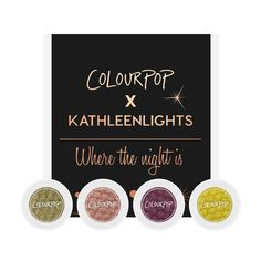 Colour Pop x Kathleen Lights  Where The Night Is