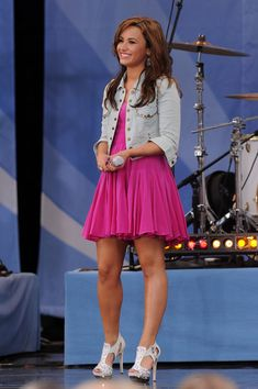 "Demi Lovato Photo - Jonas Brothers Perform On ABC's ""Good Morning America"""