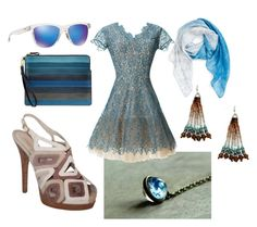 """""""MIRROR IN THE SKY by Aditi Khorana"""" by heidi-heilig on Polyvore featuring Fendi, Oakley, Tory Burch, Nordstrom, Nha Khanh, BillyTheTree, women's clothing, women, female and woman"""