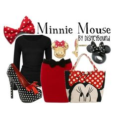 Minni Mouse.  I am Loving those shoes!
