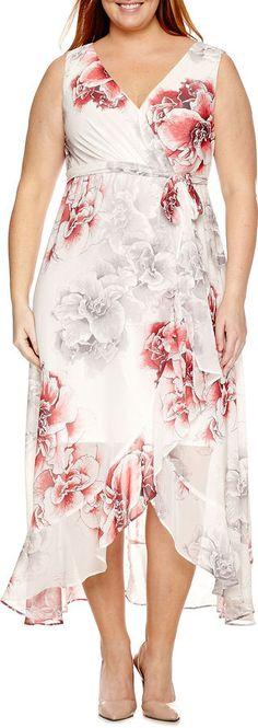MELROSE Melrose Sleeveless Maxi Dress-Plus