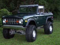 Lifted 72 Ford Bronco