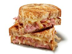 This meaty Corned Beef Grilled Cheese is just like a Reuben but without the sauerkraut.
