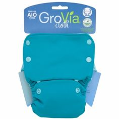 GroVia All in One Diapers because I don't hate the Earth enough to do disposable diapers again.