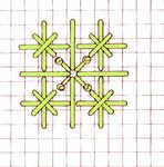 Bouquet stitch variations - click to enlarge