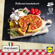Recept voor Italiaanse tomatentaart #Lidl #Italiamo