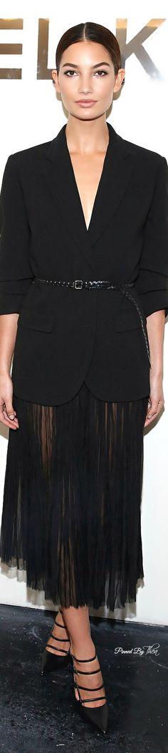 Style In The City ● Lily Aldridge ~ Tнεα