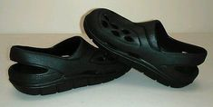 Boys Shoes Toddler sz 7 Girl Black Rubber Made in USA Lightweight Non Marking