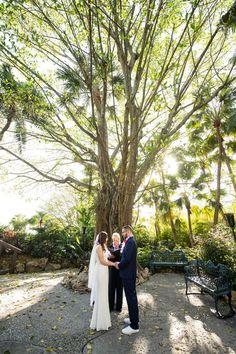 Disney Fairy Tale Wedding ceremony at Luau Pointe at Disney's Polynesian Resort