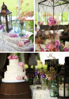 Informal Wedding Reception