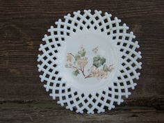 Check out this item in my Etsy shop https://www.etsy.com/listing/76030947/vintage-milk-glass-plate-with-hand
