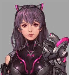 SF concept - Anika, bom Yeon on ArtStation at https://www.artstation.com/artwork/a8gn2