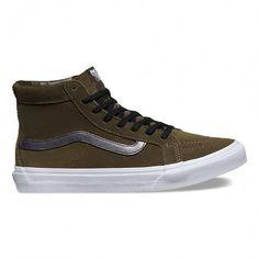 745e838632 Sk8-Hi Slim Cutout Perf Suede Shoes for women by Vans Vans Skate
