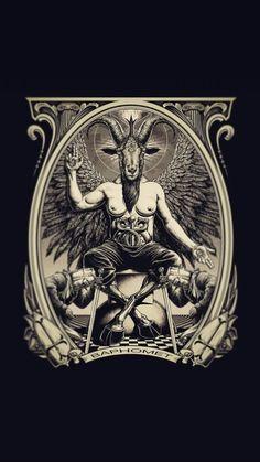 Laveyan Satanism, Black Phillip, Esoteric Art, Baphomet, Paganism, Black Magic, Voodoo, Occult, Witches