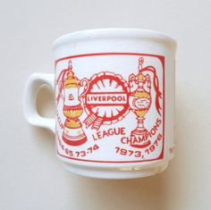 Liverpool FC Mug 1976 by LFCcollectables on Etsy