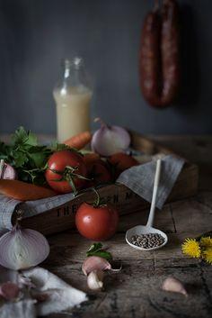 Sabores y Momentos | Lentejas con Chorizo | Lentil soup with chorizo http://saboresymomentos.es