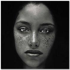 Irving Penn Portaits:Freckles.