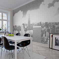 Painéis Fotográficos - City - Painel Fotográfico Concrete New York