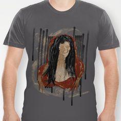 Red Mona T-shirt by Eric Elizondo - $18.00