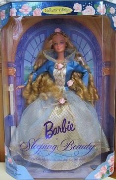 RARE 1997 AUTHENTIC MATTEL SLEEPING BEAUTY BARBIE DOLL COLLECTOR'S EDITION MINT