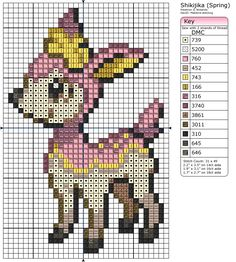 585 - Deerling - Spring by Makibird-Stitching.deviantart.com on @deviantART